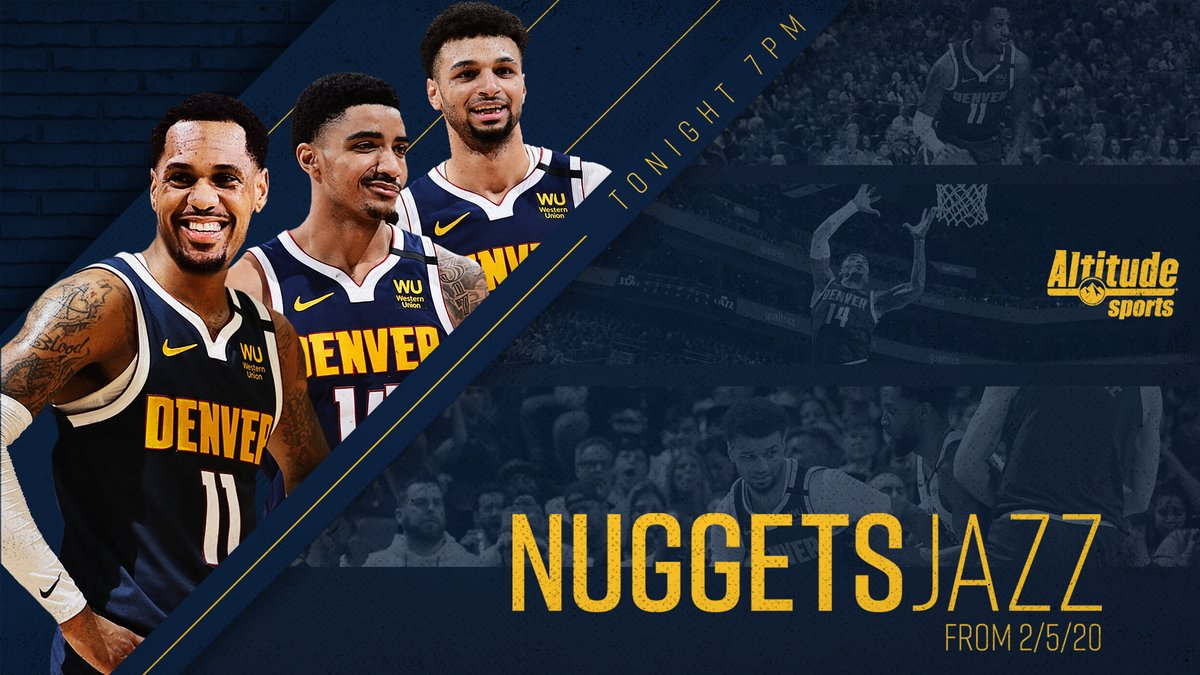 The short-handed @nuggets scored a famous victory in Utah earlier this year. Relive the drama this evening.  #MileHighBasketball https://t.co/sEoEwRuhYE