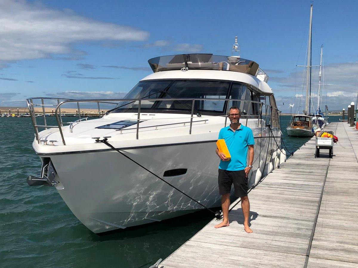 Handover of Sealine F42, 2012  We would like to express many congratulations to the new owners of the Sealine F42 and wish them a most enjoyable time on board  #sealine #boatsforsale #yachtsforsale #boats #yachts #flybridge #f42 #boatlife #yachtlife #boating #yachtingpic.twitter.com/5AdBap3GAx