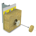 Image for the Tweet beginning: The Sto Thermal Dowel uses