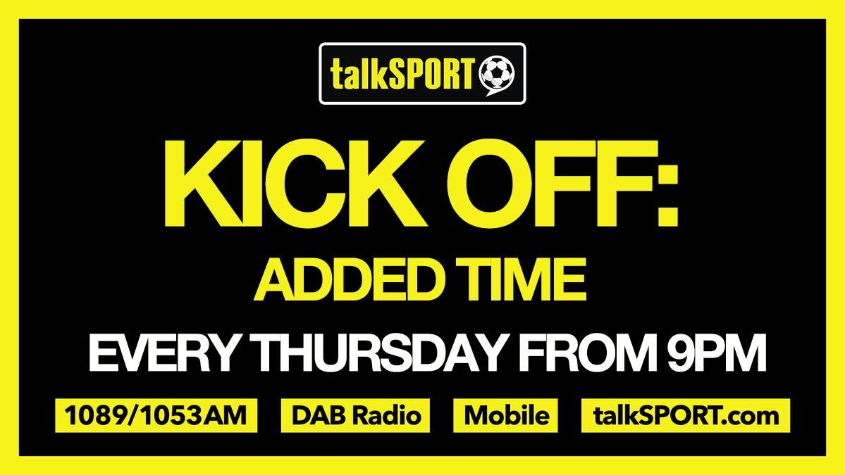 🚨 Kick Off: Added Time 🚨 🗣 @HughWoozencroft is joined by: ✅ @AlexiseNunes ✅ @Ade_Oladipo1 🤔 Could Dyche leave Burnley? ⚽️ @JustMorrow on #MLSisBack 🏴 England's first black player 🤝 W/ @AudioFund 📱 App → talkSPORT.com/Apps 📻 Listen → talkSPORT.com/Live