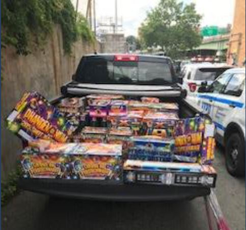 Intelligence Bureau officers around NYC have been hard at work, taking illegal fireworks like these off our city streets.   Remember, fireworks are dangerous and should be left to the professionals. https://t.co/aVfSAlAvbt