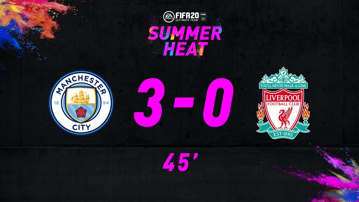 It had to be him, didnt it? 😳 Phil Foden shows his class and @ManCity are out to an emphatic 3-0 lead. If this result holds, Fodens 92 #SummerHeat☀️🔥 special item will get a +3 OVR in #FUT20 💪