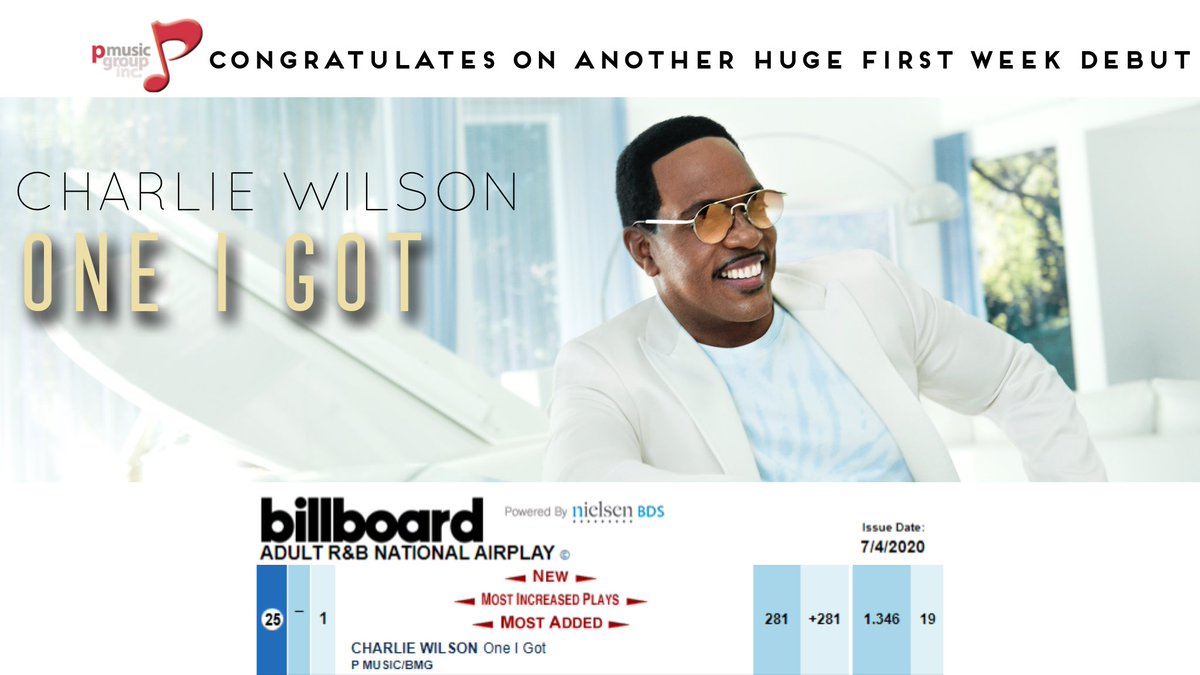 Looks like y'all are enjoying #OneIGot just as much as I do! 🕺🏾 Summertime here we come!  🌞🎶 @PMusicGroup https://t.co/rdZnF9hBQT