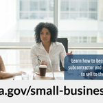 #FactFriday: The federal government's goal is to award at least 5% of all federal contracting dollars to women-owned small businesses each year.  Learn how GSA can help your #SmallBusiness do business with the federal government at https://t.co/ne5M9L8qUB.  @SBAgov