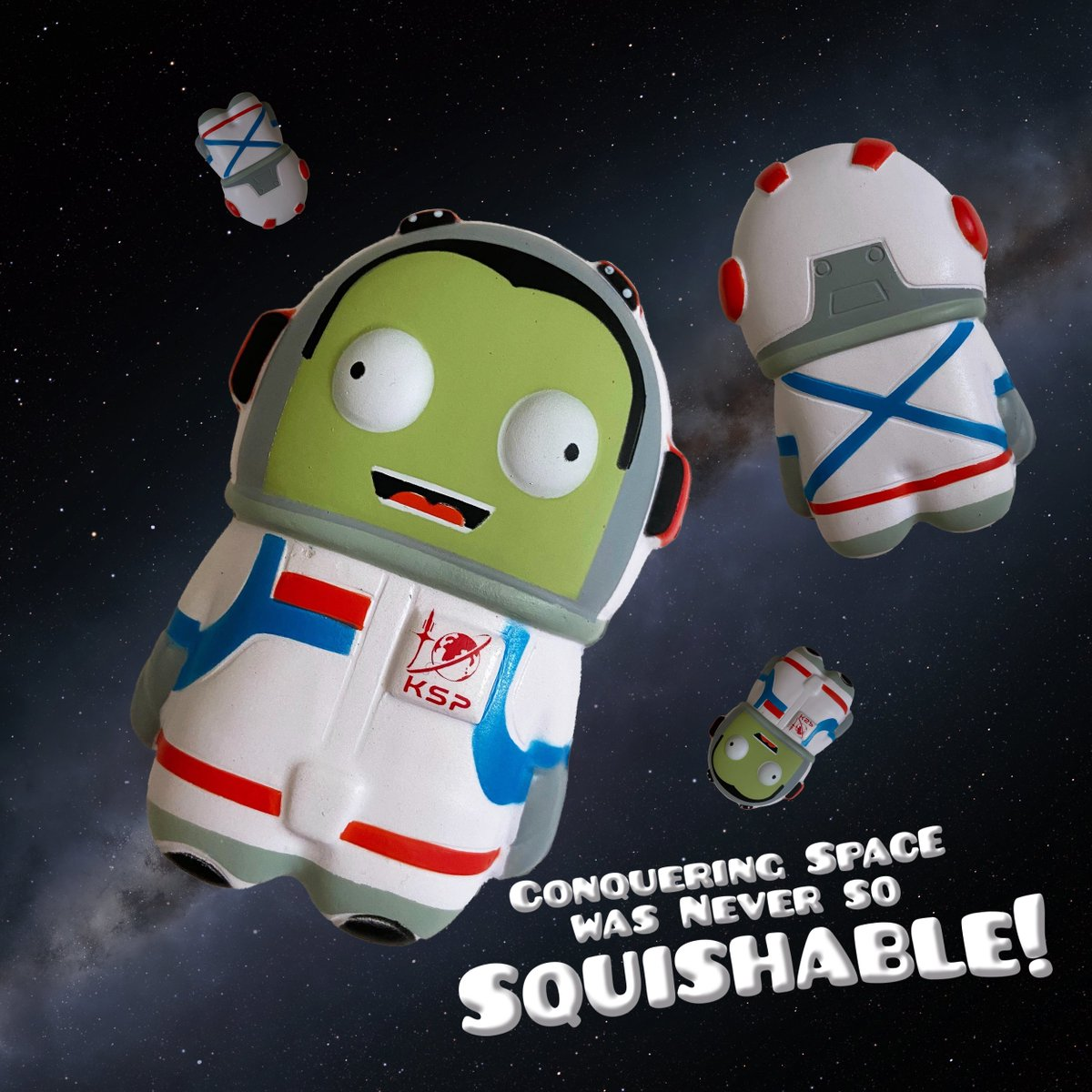 Ever wanted a mini squishable Kerbal to keep you company at all times, everywhere you go? Consider your wish granted!  Get yours here! https://t.co/WadDxCHgSC https://t.co/LD39XhcZ98