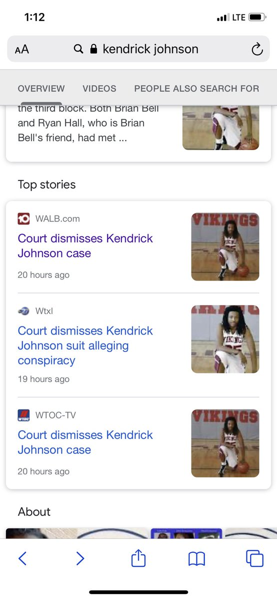 WE CLEARLY NOT LOUD ENOUGH. THEY DISMISSED #KendrickJohnson CASE YESTERDAY💔 AND NO ONE TALKING AB IT https://t.co/Fk1h6Vro1N
