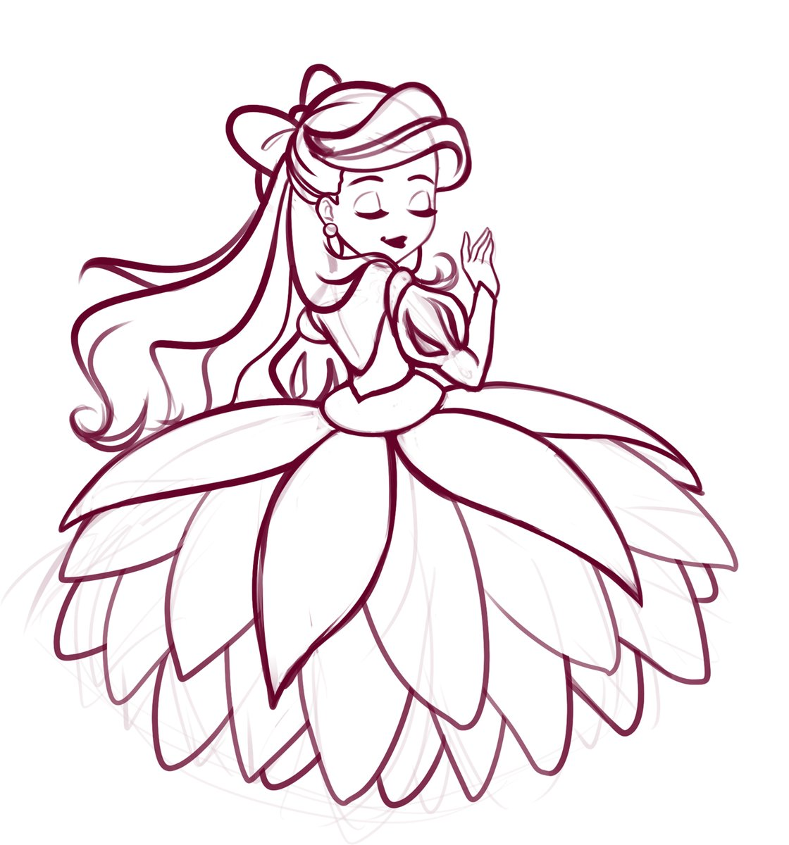 Drawing the next chibi princess #Ariel #thelittlemermaidpic.twitter.com/seExdbSh55