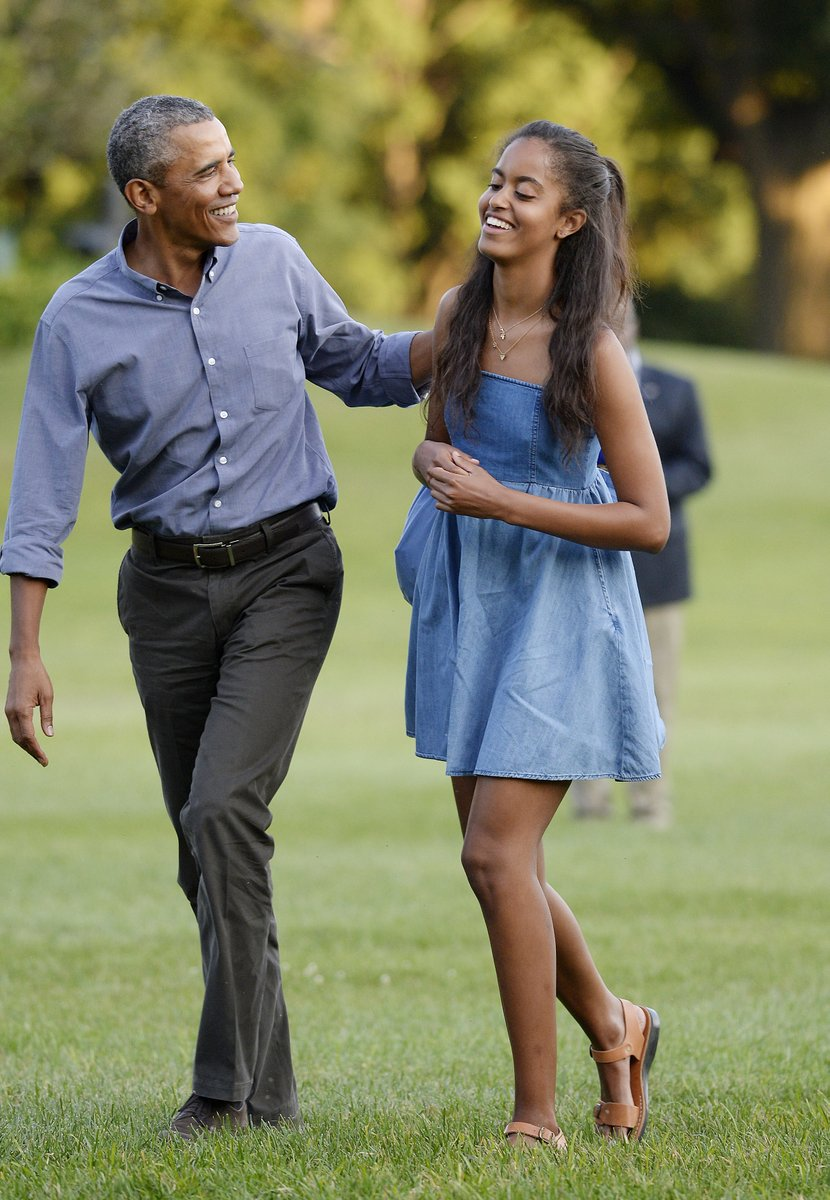 They raised such nice young women.  Why can't they be the first family again?