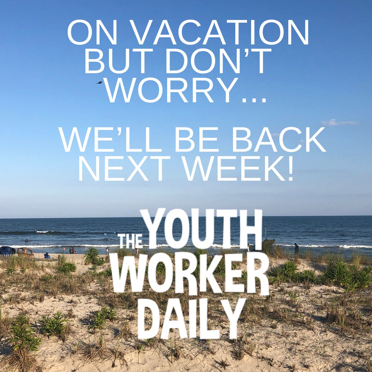Sorry for the abrupt halt on the podcast and website. We are on a quick vacation. But don't worry we will return next week!! #ythworkerdaily #conversationspodcast #stumin #youthministry #podcastpic.twitter.com/Qvh6LSCAuJ