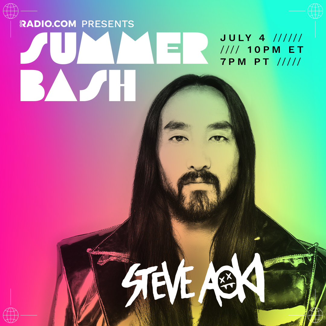 Excited to be a part of the STAR STUDDED lineup for the @radiodotcom #SummerBash tomorrow July 4th! Especially with the homies @iamwill @bep @liljon! Listen on your favorite Radio.com Pop station starting at 10pm ET!