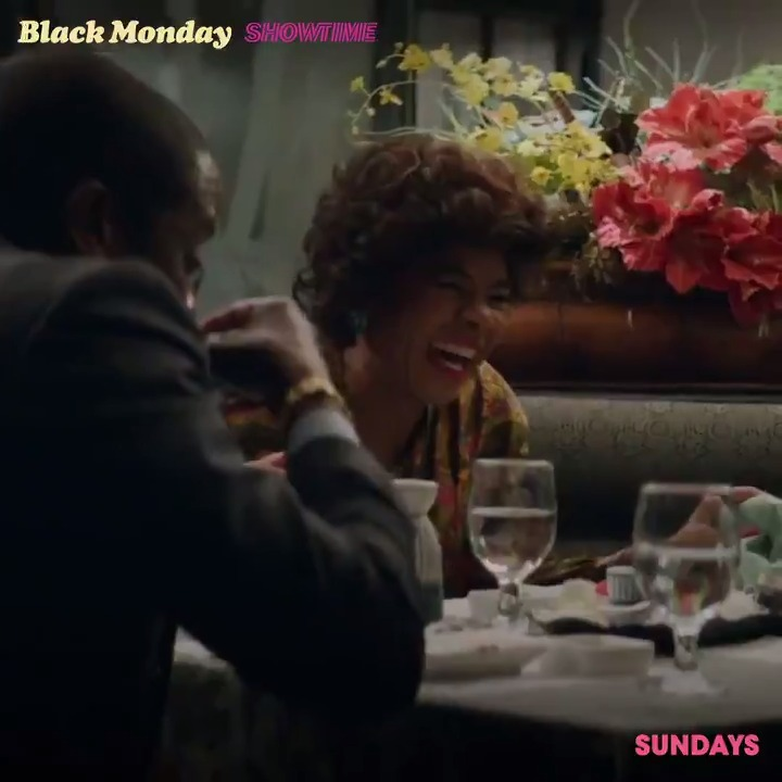 Replying to @SHOBlackMonday: It's date night! #BlackMonday starts now on #Showtime.
