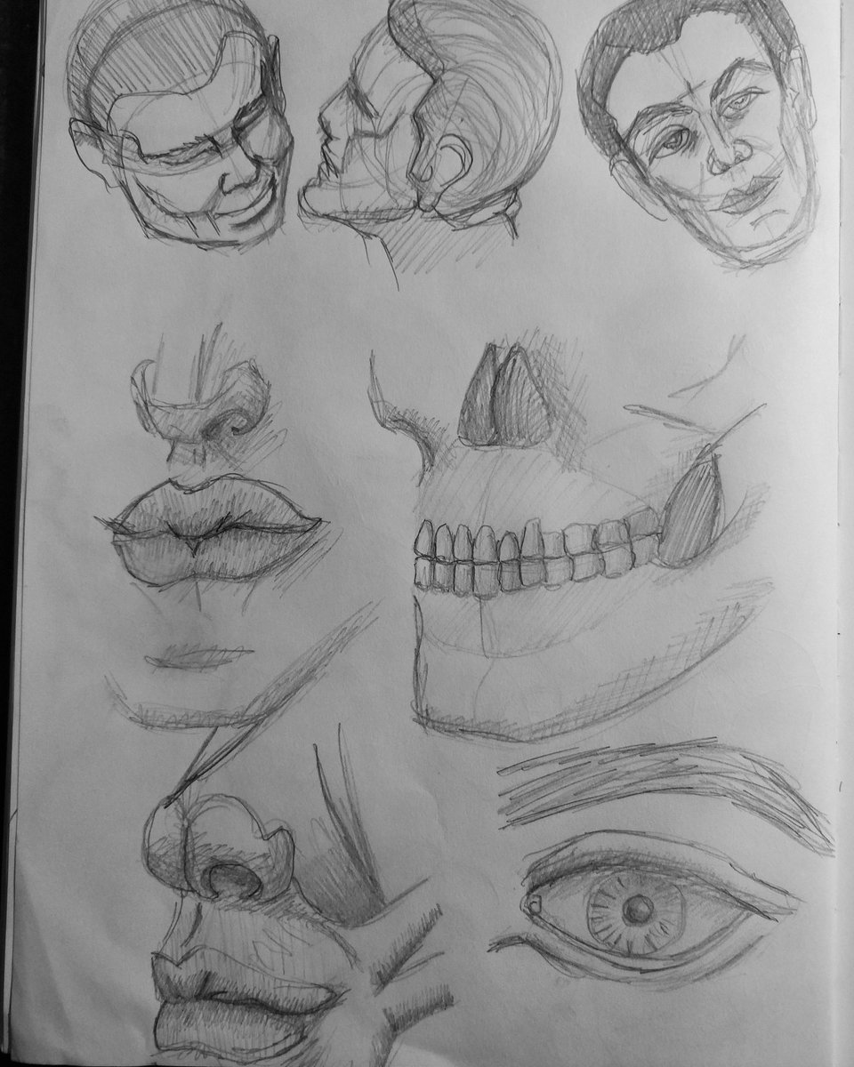 Learning to draw day 22 - some feature studies  #art #sketch #sketchings #sketchingdaily #sketchdaily #drawingdaily #drawings #drawwomen #drawing #drawdaily #faces #drawingeveryday #sketcheveryday #sketches #learnart #sketch_daily #sketchings #sketchbookdrawing #faces #headspic.twitter.com/ByFLHxsikI