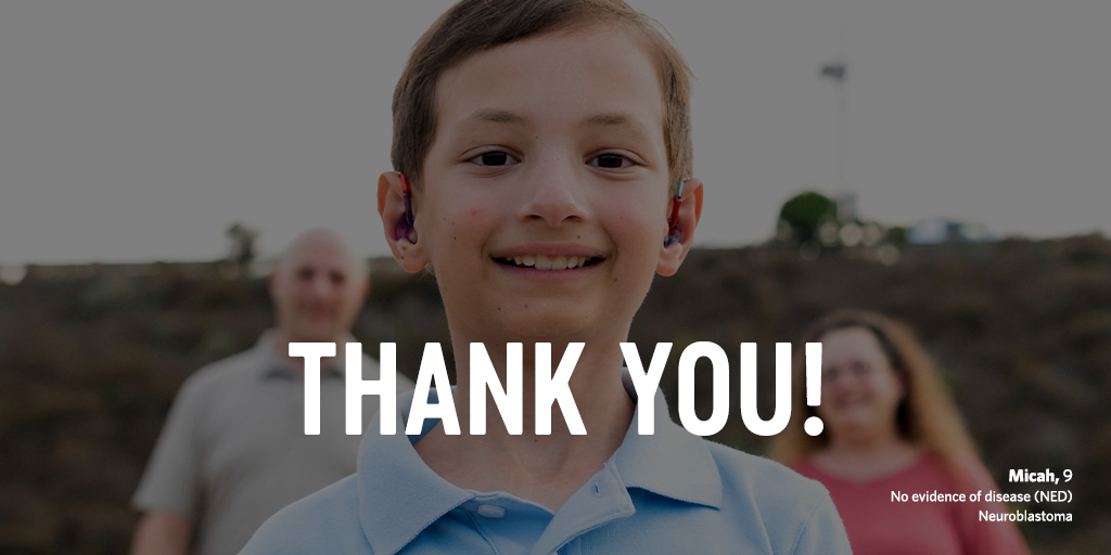 During the month of June, we asked for your support to #DFYchildhoodCancers. With your generosity, and a $300k donation match from Tim & Sheila Kenny, a total of $1,436,167 is going to childhood cancer research.  A big THANK YOU for giving the gift of hope to kids with cancer. https://t.co/WsF8mQqgaH