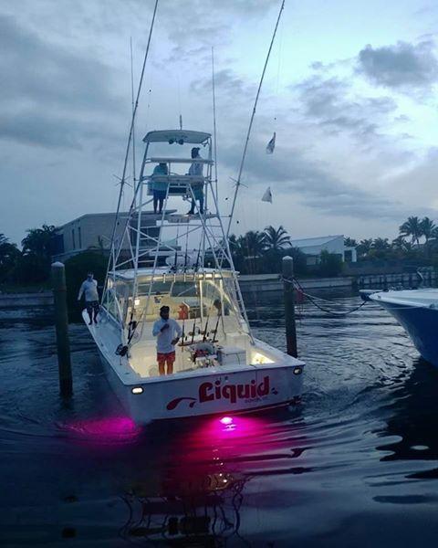 Cap Cana, DR - Liquid went 2-8 on Blue Marlin.