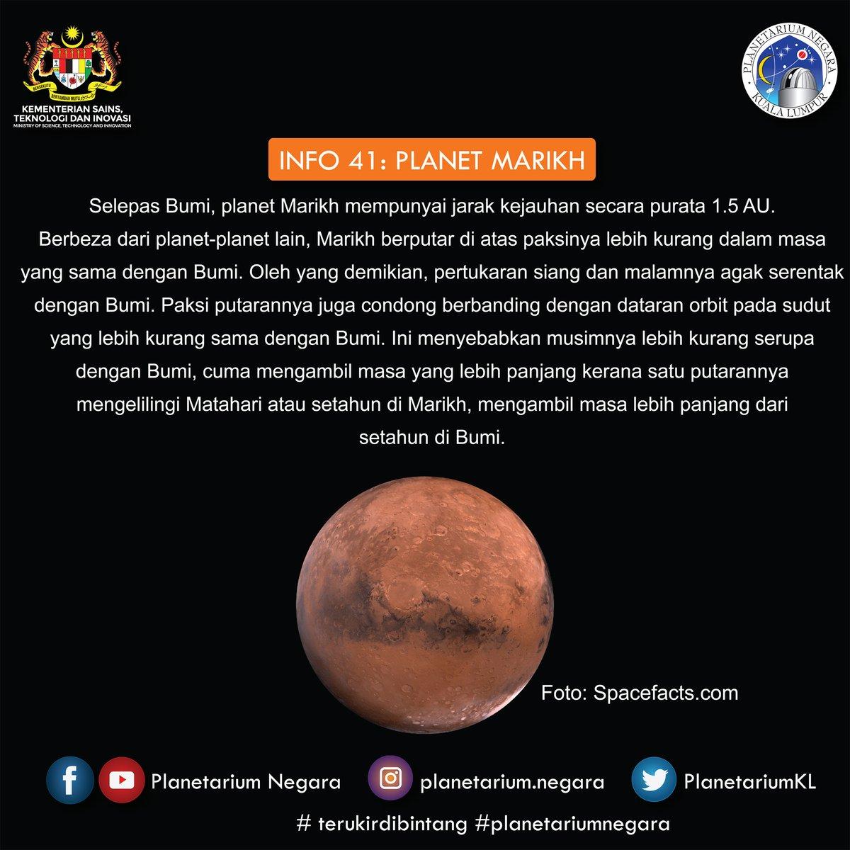 PlanetariumNegara a Twitter
