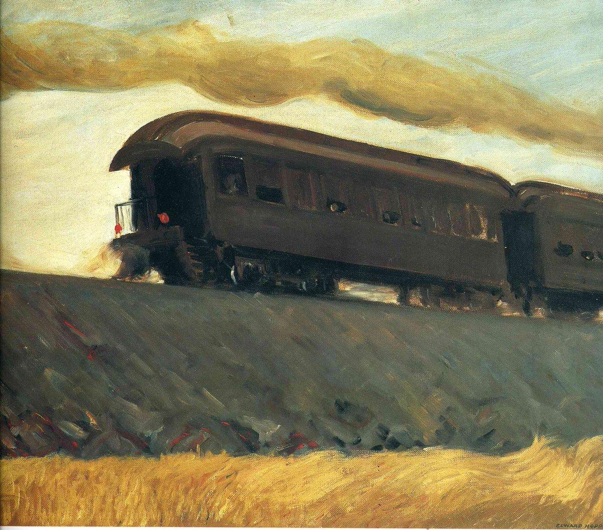 Railroad Train, 1908  https://www. wikiart.org/en/edward-hopp er/not_detected_235609  …  #hopper #newrealism <br>http://pic.twitter.com/6l4VLSKGEC
