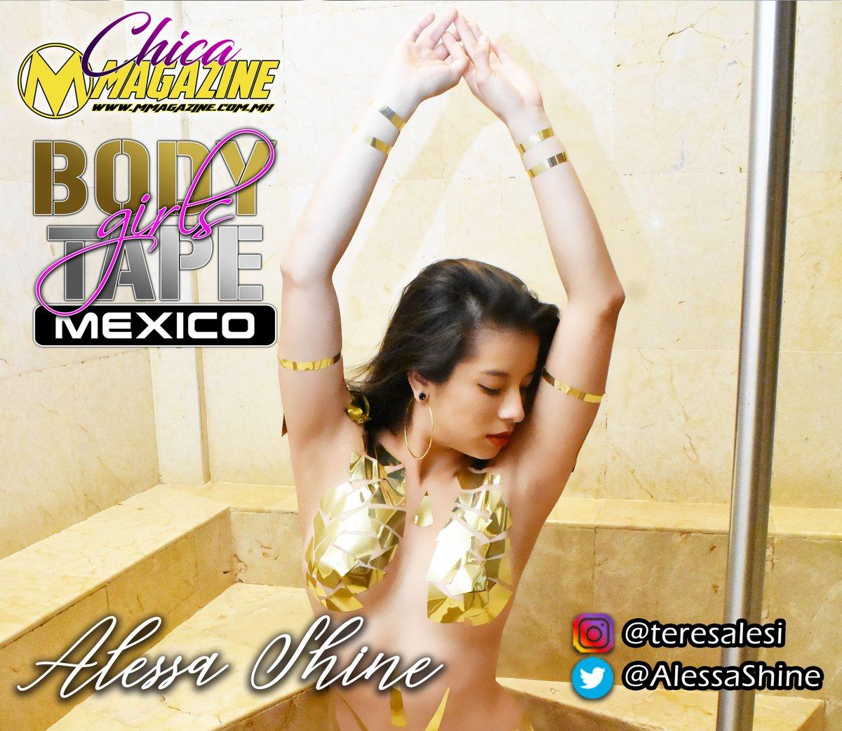 @AlessaShine  regresa en Julio con su belleza y talento...  #BodyTape #BodyTapeGirlsMéxico https://t.co/5SSw4rVKDp
