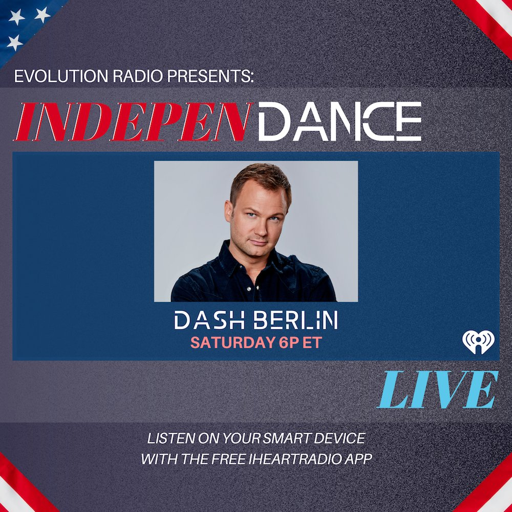 Tune in right now for an #IndepenDANCElive mix from @DashBerlin! iheart.com/live/evolution…