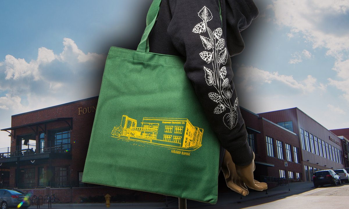 We know you totes want one of our Grand Rapids taproom totes! Available in two different colors, this $4 tote bag is perfect for everyday use. This promo is online only and runs through July 5, so start shopping at https://t.co/SFAnK1WBeR. https://t.co/sfsFyLQzJP
