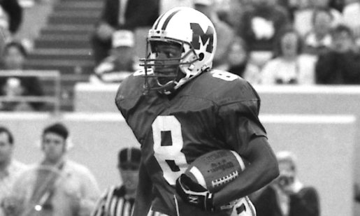 Troy Brown might've been the single-most dangerous scoring threat in @NCAA_FCS 🏈. As a senior he totaled 139 rec. for 2,746 yds. and 24 TDs, earning 1st-team All-America honors. Troy led @HerdFB to back-to-back @FCSChampionship games, winning in 1992. #WeAreMarshall #OneHerd https://t.co/SeaKmS6MFO
