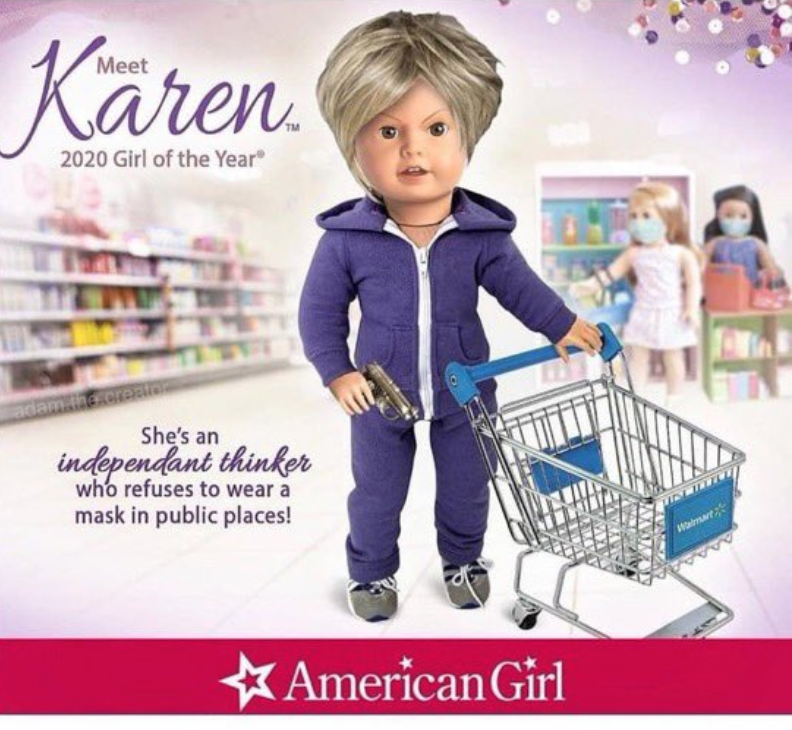 did not expect to see American Girl dolls become part of The Discourse https://t.co/xCzEa8qo73