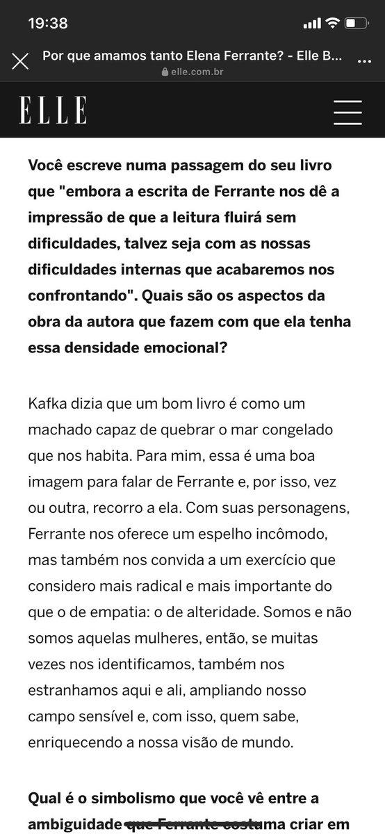 Aiai mas essa matéria da @ellebrasil com a Fabiane sobre a Elena está tudo 🤧 https://t.co/xqufRDgNy3