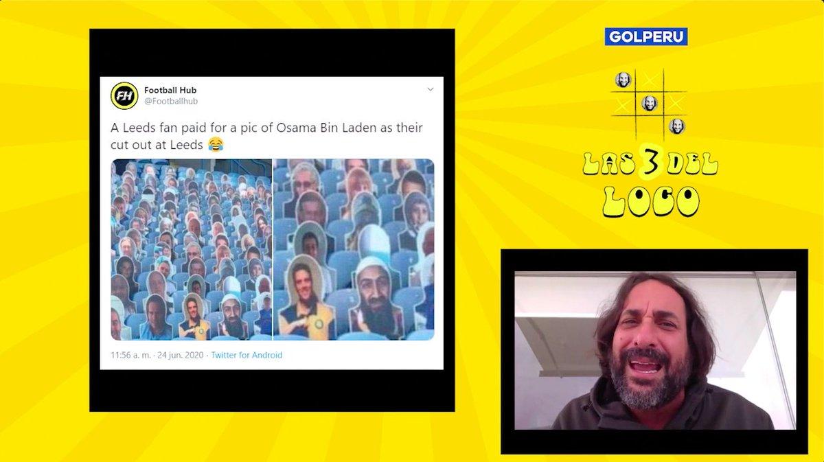 @ElLocoWagner nos trae otra edición de #Las3delLoco, con las noticias más curiosas de la semana. Los protagonistas de hoy son Pizarro, Cristiano Ronaldo y... ¿Bin Laden?  https://t.co/niApqhhuGO https://t.co/NIF9SBxfAi