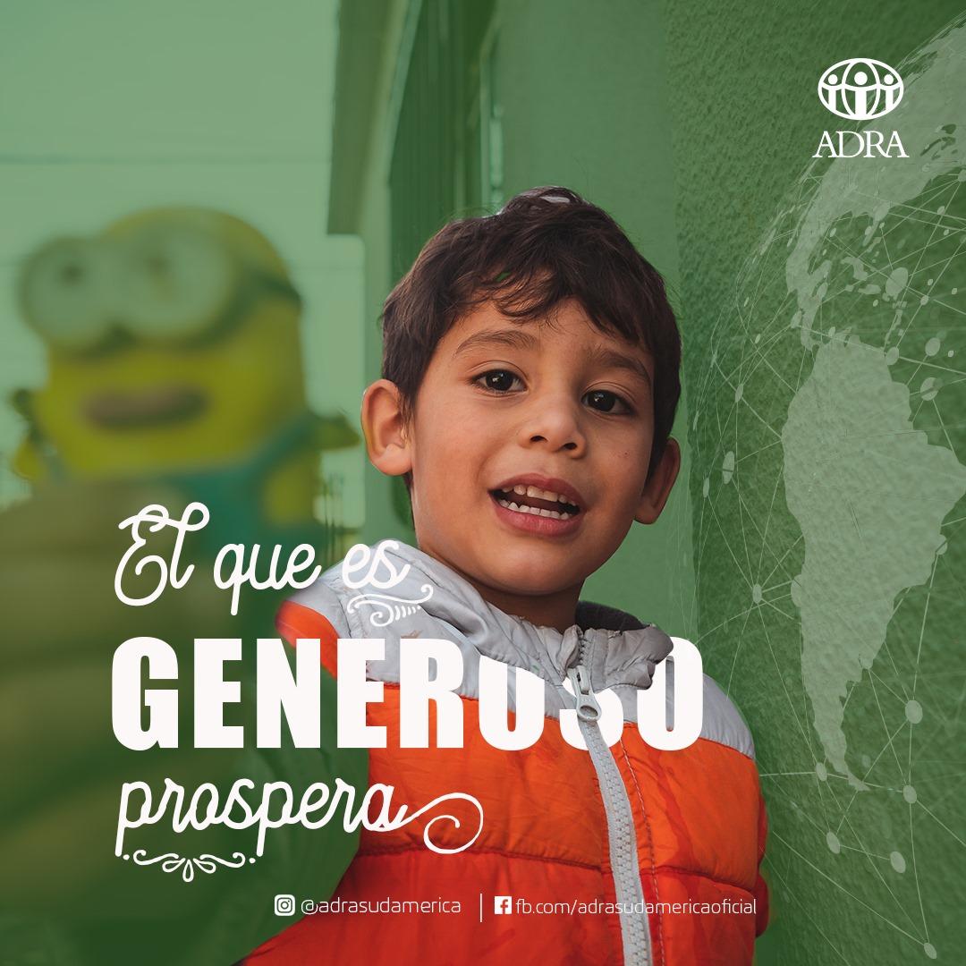'La mejor manera de hacerse recordar es mostrando un corazón generoso' _.George Sand  #ayudemos #ayudanosaayudar #solidaridad #fundacion #donantes #contagios #adra #adrasudamerica #cambiaelmundo #refugiadosvenezolanos #venezolanos #amorycompasion @ADRASudamericapic.twitter.com/6efoRsUfok