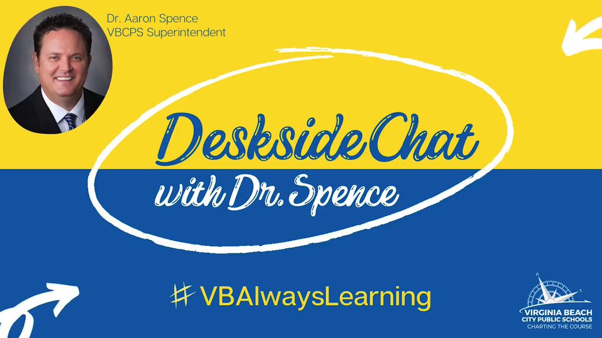 In today's Deskside Chat, @BeachSupe  discusses the possible scenarios for returning to school in the fall, summer school hours and return-to-participation for sports! #WeAreVBSchools  https://t.co/oYIgC747SO https://t.co/NJVeP8mgJf