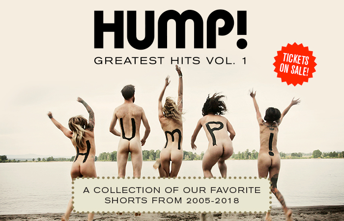 TONIGHT - Tune into HUMP! Greatest Hits, Volume 1. A  collection of amazing past films from 2005-2018. The livestream starts at 8pm sharp. Only 2 chances left to see these films. Watch the trailer, read about the films, and get tickets at https://t.co/7DedcyeYQs - TSARY https://t.co/PhzqGg5sJf