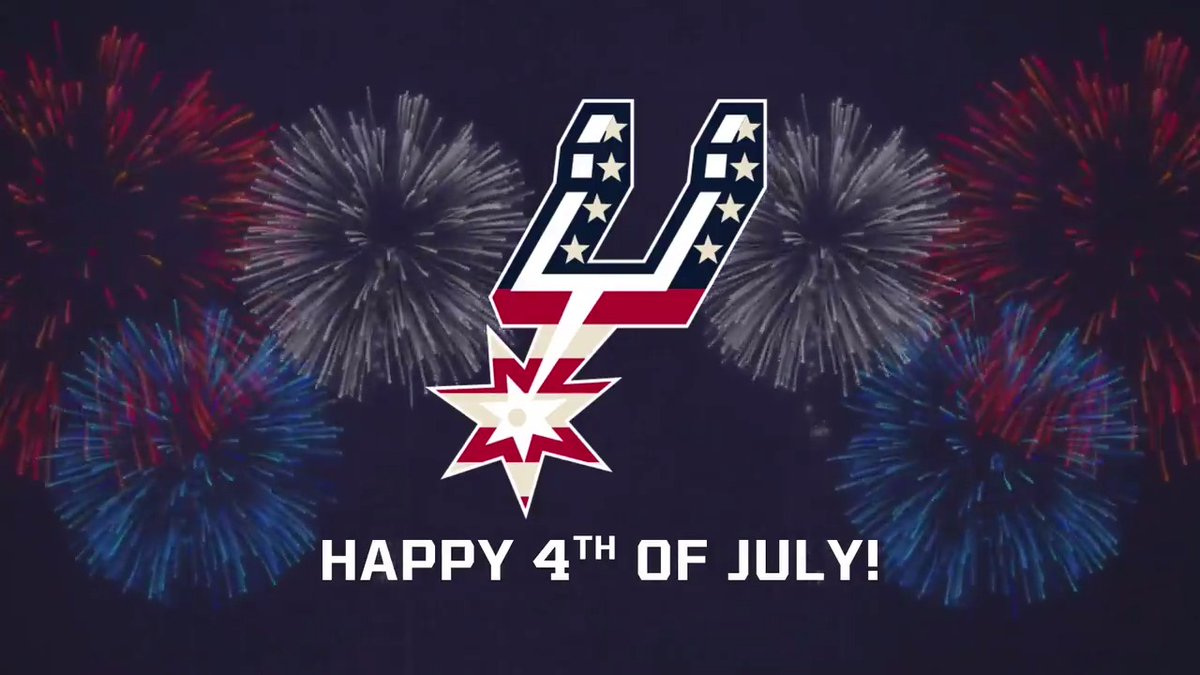 Happy #4thofJuly, Spurs Family 🎇 Have a safe weekend and remember to make your voice heard by voting!