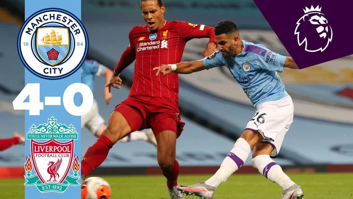 ⚽️⚽️ HIGHLIGHTS ⚽️⚽️  All the best bits from our emphatic win over Liverpool...👇  🔵 #ManCity https://t.co/rPKRaWknhK