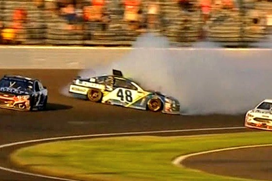 Now if this weekend can go better than the last 2 times Jimmie started in the T5 at Indy....pic.twitter.com/7oLO7thZbH