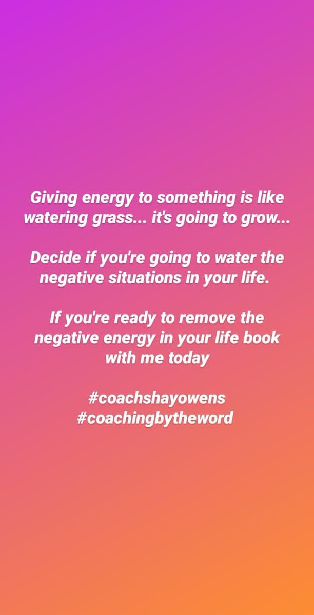 #coachshayowens #coachinglife #relationshipcoach #relationshipcoachingtip #helpmeet #marriagecoach #blessedmarriage #marriedlife #unscripted #coachingbytheword  #lifecoach #lifecoaching #mindset #healthymarriage #facts #keepingit100 #christianmarriage #christianrelationshipgoals https://t.co/qb519CYcnn