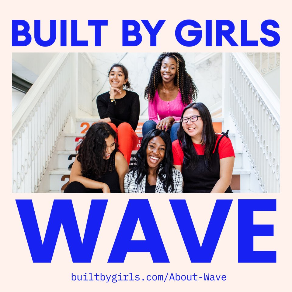 @ahillgill @AGSHurricanes @agnesscott @SpelmanCollege Know some 15-22 yr olds looking for mentorship? the BUILT BY GIRLS WAVE program pairs them with a professional in tech who is eager to offer career guidance. http://rb.gy/jjezaj APPLY BY JULY 5, GET MATCHED ON JULY 9pic.twitter.com/LsxOCG2YJs