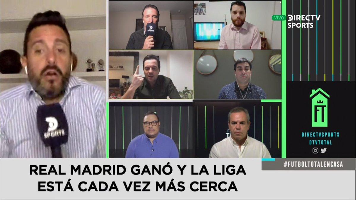 ¡¡DEBATE CALIENTE!!🔥🔥🔥🔥🔥 En @DTVTotal hablando de un nuevo triunfo del Madrid!! @DIRECTVSports 🚨🚨🚨🚨🚨 https://t.co/kXULeIvmcA