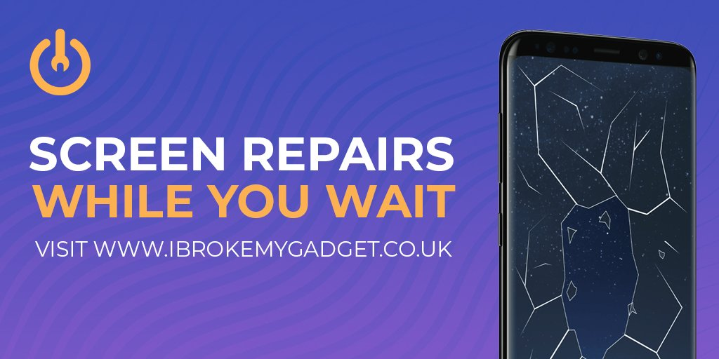 Dont let a cracked phone screen ruin your day! Get a fresh new screen at one of our stores today! #Basingstoke #Bracknell #Camberley #Woking #GadgetRepair #iPhoneRepair #AppleRepair iBrokeMyGadget.co.uk