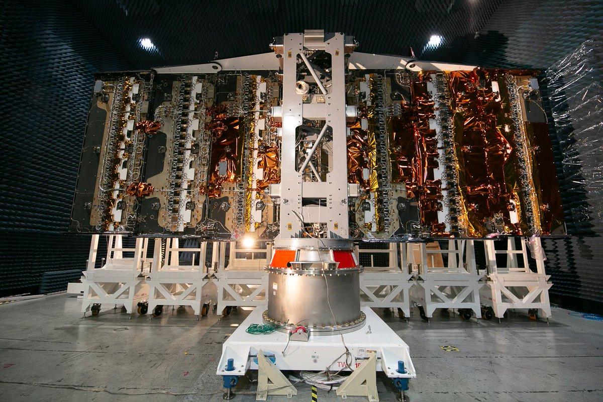 El satélite SAOCOM 1B tiene nueva campaña de lanzamiento. Se prevé colocarlo en órbita a fines de este mes. Los ingenieros argentinos que viajarán a EE.UU. cumplirán una estricta cuarentena hasta el domingo 12 de julio. 🛰️  👉https://t.co/0JATCY6Zsy #ArgentinaUnida #HaciaElFuturo https://t.co/8Tpp4tMfjC