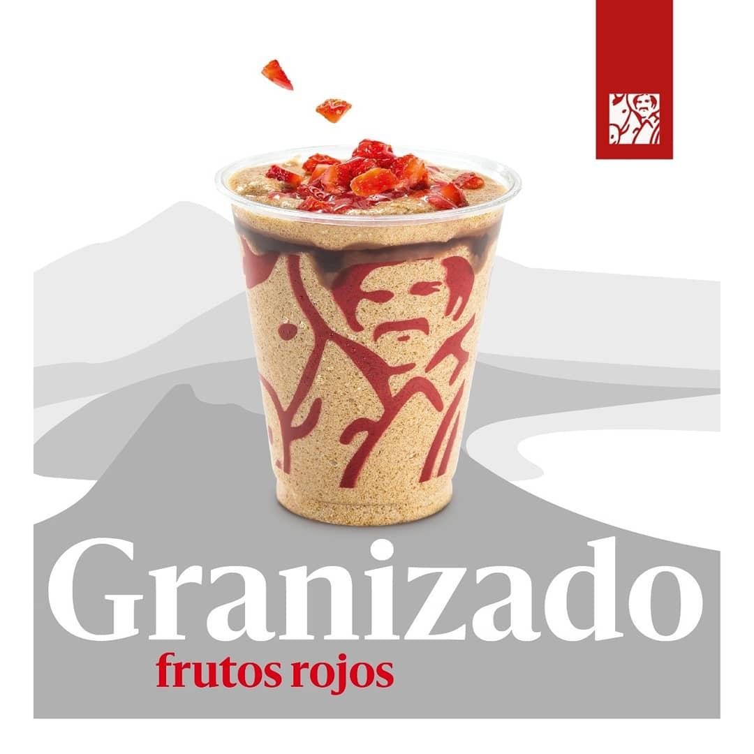 ¡Prueba algo nuevo y además delicioso! Tu Granizado de siempre acompañado con fresas y salsa de mora. 🍇🍓😋 https://t.co/IhIXpsCoDk