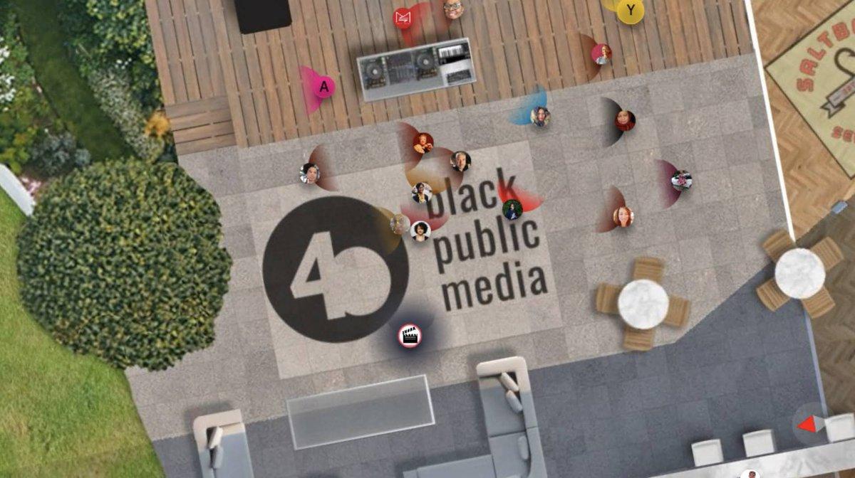 @BlkPublicMedia celebrated 40 years last week in @HighFidelityXR 🎉  https://t.co/zVkaFc0IRr #BlackPublicMedia #bpm40th #pandemicpivot #thegatheringspot #virtualparty https://t.co/f4ahmOQ2pK