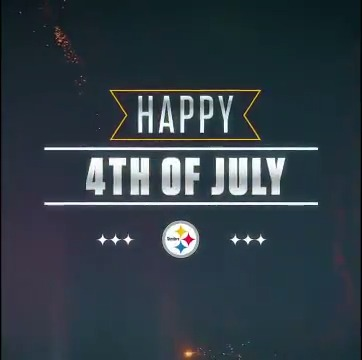 Happy #FourthOfJuly, #SteelersNation!