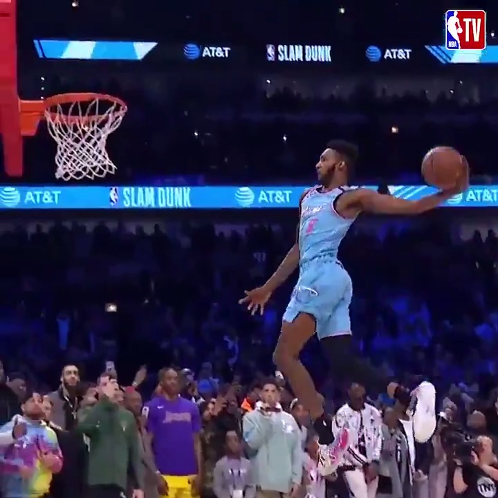 This year's dunk contest was unforgettable 👀  2020 Dunk Contest - 10:30pm ET on NBA TV! https://t.co/NfNG4ZVMKK