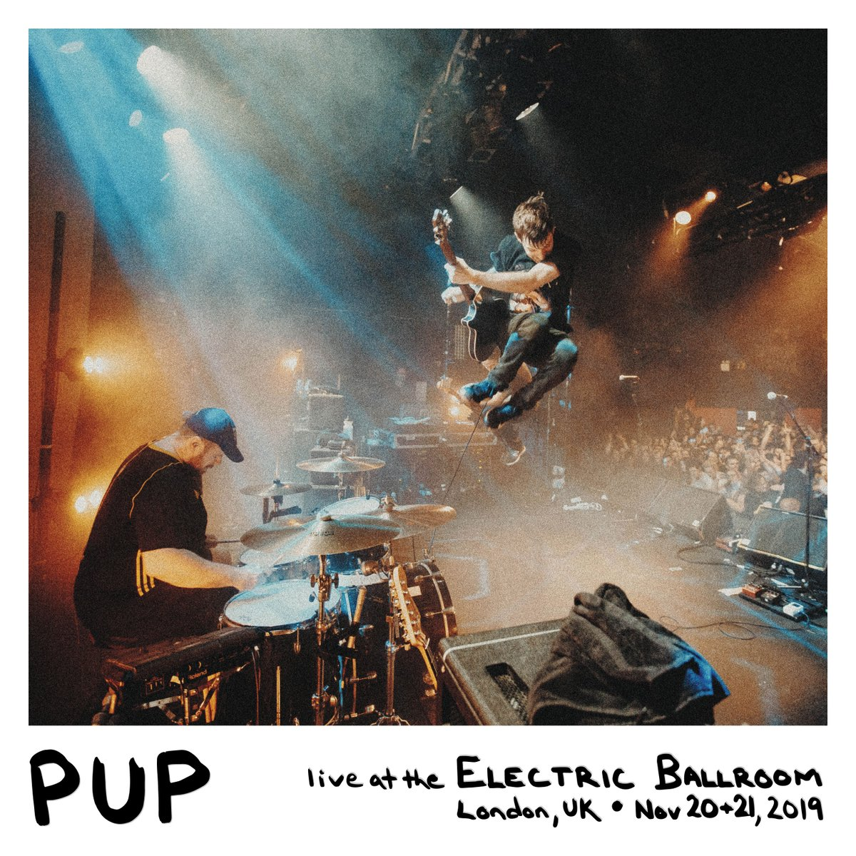 "TODAY ONLY ""PUP - LIVE AT THE ELECTRIC BALLROOM"" is available for download from @Bandcamp. Tomorrow it's gone. $10. 50% of proceeds to Critical Resistance (@C_Resistance) + Breakaway Addiction Services (@bas_toronto). https://t.co/49IcZTIR29 https://t.co/mnJXEq6TdD"