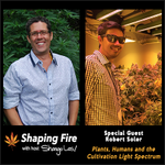 Tune in to the Shaping Fire Podcast to hear BIOS lighting scientist Robert Soler break down cultivation management and how light impacts crop growth - https://t.co/utSNzOZysf  #NaturallyBrilliant #LEDlights #LEDlighting #growlights #growyourown #cannabiscommunity