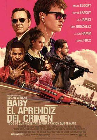 Día 2: #Pelicula Drive Baby, Muy buena pelicula de amor y acción, la recomiendo mucho y trae con ella muy buenas canciones. Es rápida la pelicula pero creo que lo vale  #Dia81 https://t.co/rfL2kVNZ5r