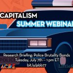Image for the Tweet beginning: Our COPS & CAPITALISM Summer