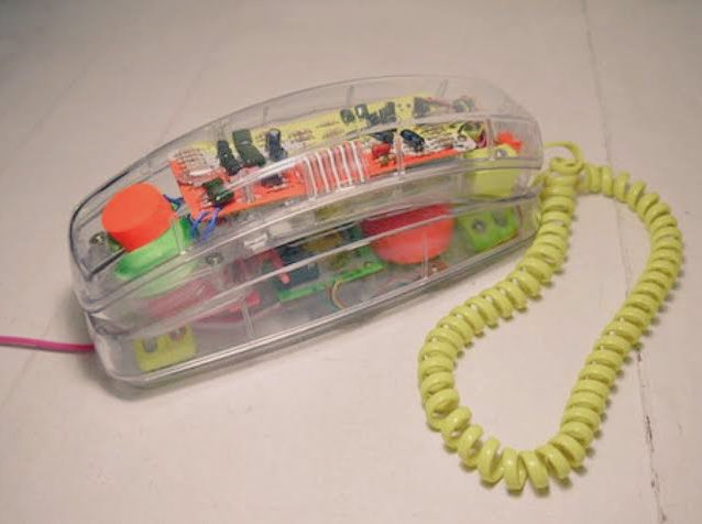 clear plastic phones from the 80s and 90s >>>>>>>> phones today