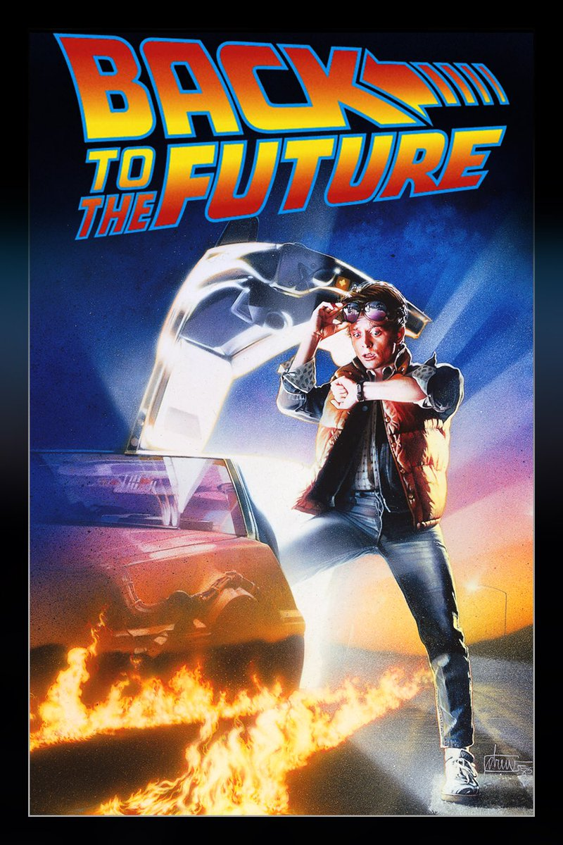 Happy 35th birthday to an absolute classic. I loved Back To The Future as a kid back in '85, and I still love it (as a big kid) today. https://t.co/k8oT01eurA