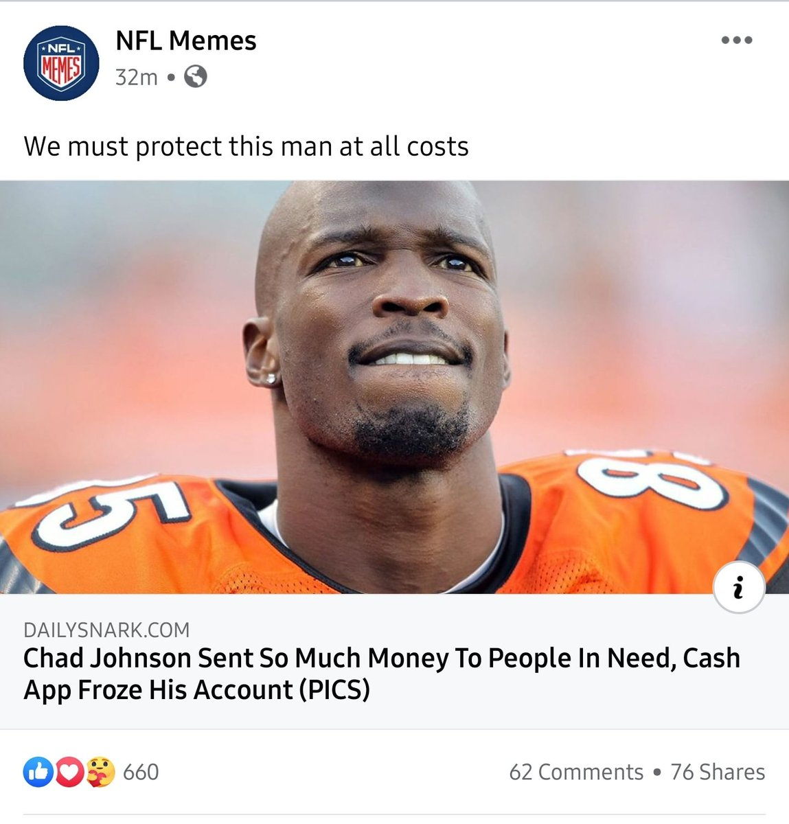 Ive followed @ochocinco for yearrrrssss. Ive always thought it was BS that he would send out money to people until i see this! This is a good dude here! Ill never doubt him again. https://t.co/uv0Yly6TLq