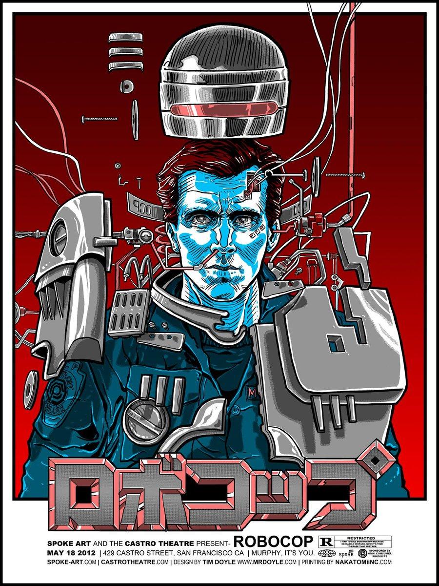 RoboCop (1987) #movieposter https://t.co/GVnWgqNKay